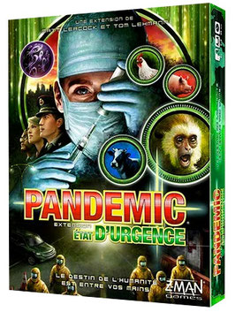 Pandemic - Ext Etat d'Urgence