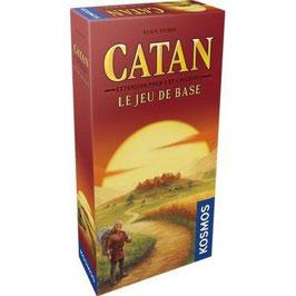 CATAN extension 5/6 joueurs pour le jeu de base.