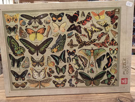 Puzzle 1000 Encyclopedia Butterfly