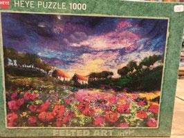 Puzzle 1000 Sundown Poppies
