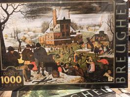Puzzle 1000 Pièces Brueghel - Hiver