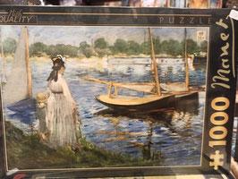 Puzzle 1000 Pièces Manet - Rives de la Seine