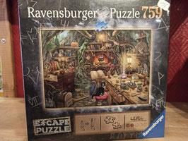 Escape Puzzle 759 Pièces Dans la Cuisine des Sorcières