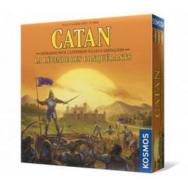 CATAN extension LA LEGENDE DES CONQUERANTS (necessite ville et chevaliers)
