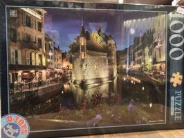 Puzzle 1000 Annecy La Nuit