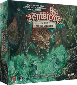 Zombicide Black Plague - No rest for the Wicked