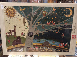 Puzzle 1000 Pièces Nature Day and Night