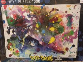 Puzzle 1000 Pièces Meow