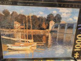 Puzzle 1000 Pièces Monet - Pont d'argenteuil
