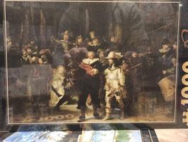 Puzzle 1000 Pièces Rembrandt - Veille de Nuit
