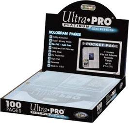 Feuille de rangement Ultra-Pro platinum x1