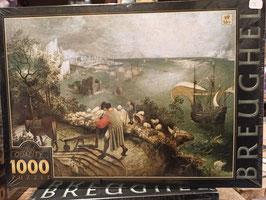 Puzzle 1000 Pièces Brueghel - Paysage à La Chute d'Icare