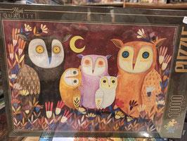 Puzzle 1000 Pièces Owls