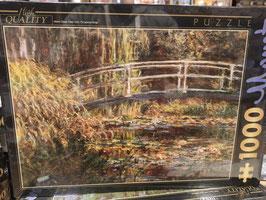 Puzzle 1000 Pièces Monet - Pont Japonais