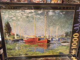 Puzzle 1000 Pièces Monet - Argenteuil
