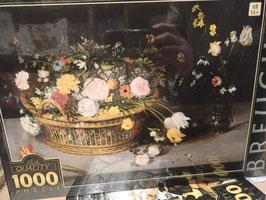 Puzzle 1000 Pièces Brueghel - Fleurs dans Panier