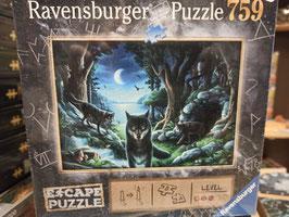 Escape Puzzle 759 Pièces La meute de Loups