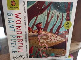 LE PETIT CHAPERON ROUGE Puzzle 3 ans.