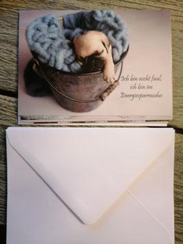 10er Set Postkarten mit Sprüchen und 10 Kuverts 10x14