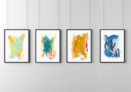 Vier Jahreszeiten Print - Serie