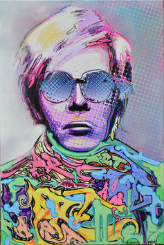 "Canvas - ""Andy Warhol - ART"""