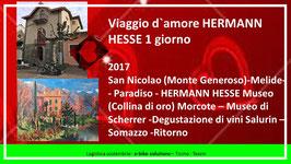 Viaggio d'amore HERMANN HESSE di 1 giorno, 2 biciclette, con guida turistica, con programma turistico (enoteca, visita di musei)