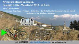 Adventure at the Monte Generoso without guide. We start from Somazzo and select a tour with or without train from Capo Lago.