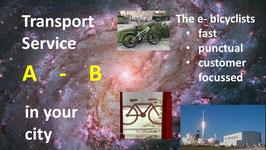 e-bike INTRAcity: Transportdiensleistung: Standard-Abholung und Lieferung E-Bike in der Stadt