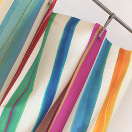 SALE% ISCHIA*Stoff fabric Meterware Streifen 100% Baumwolle Sommer! Nya Nordiska