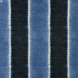 TOC VERS STRIPE* Meterware Bezug outdoor indigo blau Ralph Lauren