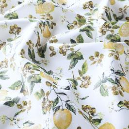 LIMONCELLO*Outdoor Stoff Meterware Zitrone fabric en plein air JAB