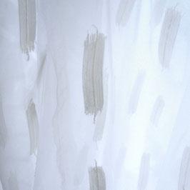 BONNIE*** zauberhafter Voile weiss*2,95 hoch mit ecru Leinenstick/Nya Nordiska ivory 22