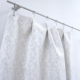 ADAM&EVE %%% Meterware bestickt Stoff weiss fabric Carlucci