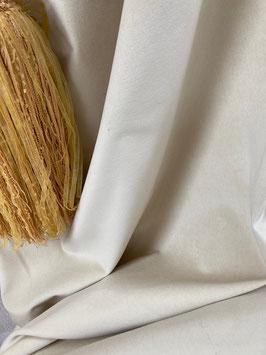 CRANACH*Stoff nougat beige Meterware Baumwoll Samt Velvet Jab