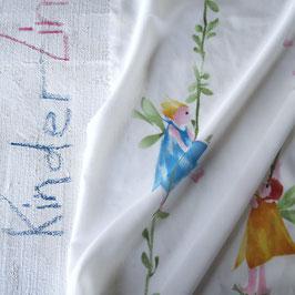 LILITH Meterware Voile Stoff fabric tissu/Blumen Kinder Nya Nordiska