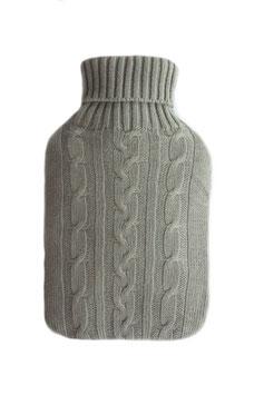 NATURELLY-GREY, die Kuschel-Wärmeflasche für GROSS & KLEIN