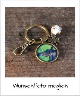 Schlüssel-/Taschenanhänger Pferd