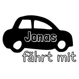 Auto mit Wunschnamen