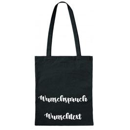 """Tragtasche """"Wunschtext/Wunschspruch"""""""