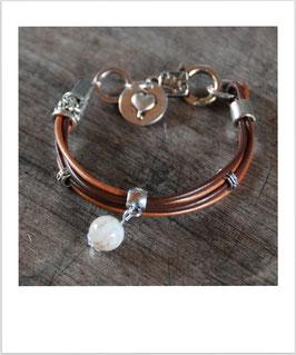 Armband braun/bronze
