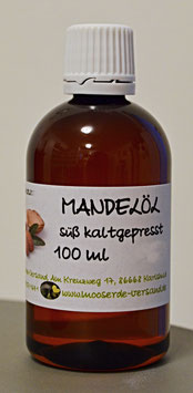 Mandelöl süß kaltgepresst 100 ml
