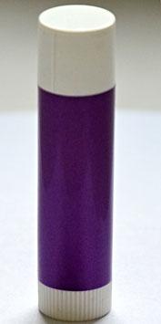 Hülse für Lippenbalsam lila