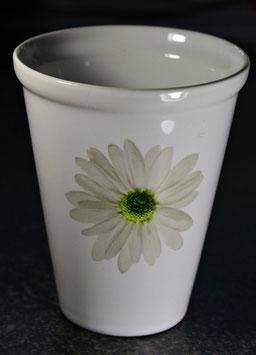 Keramikvase Gerbera