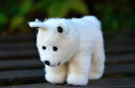 Filz Eisbär