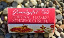 Schafmilchseife 100 g-Stück Granatapfel