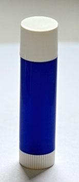 Hülse für Lippenbalsam dunkelblau