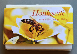Honigseife handgerührt aus Karlshuld  100 g-Stück