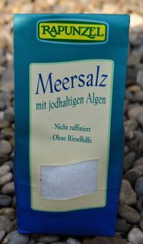 Meersalz fein mit jodhaltigen Algen 500 g