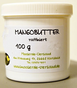 Mangobutter raffiniert 100 g