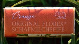 Schafmilchseife 100 g-Stück Orange